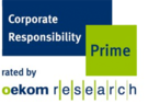 oekom research corporate responsibility prime auszeichnung